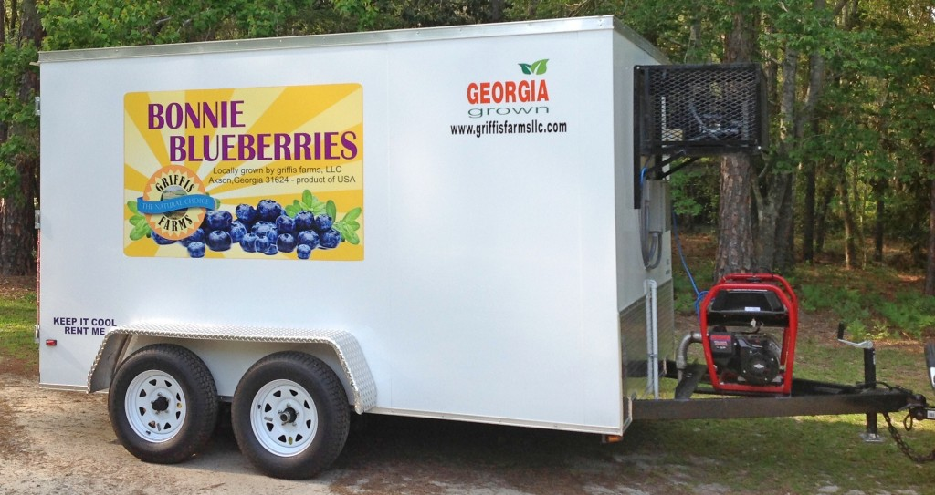 Bonnie Blueberry refrigerated trailer